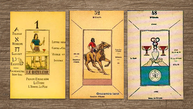 Таро Папюса Papus tarot (Tarot of the Gypsies)