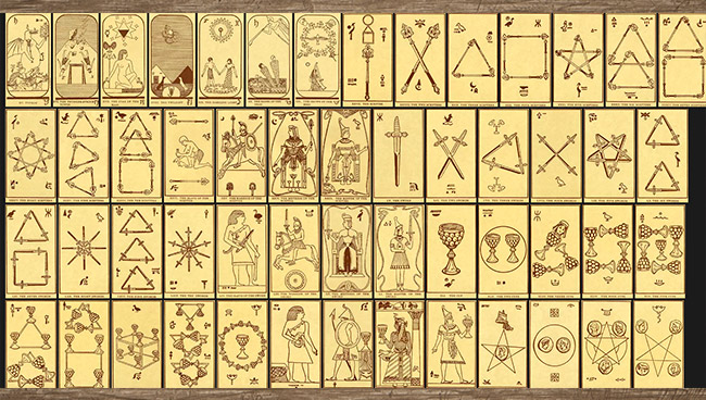 Egyptian Tarot (Comte C. de Saint-Germain)