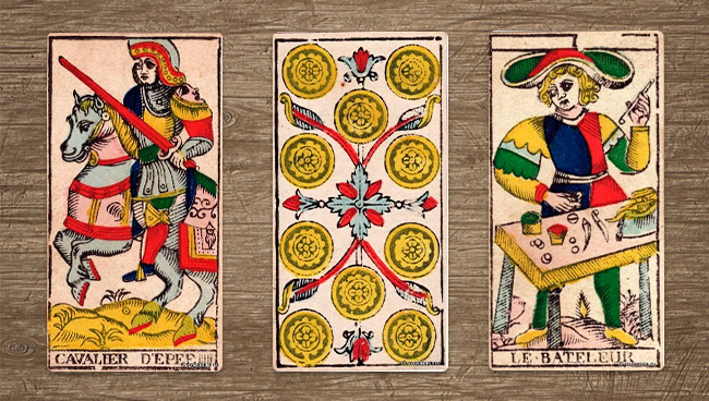 Марсельское Таро Ancient Tarot of Marseilles – Nicholas Conver 1761, LS
